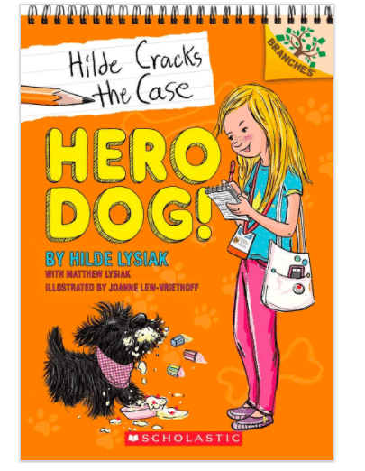 Hero Dog! is perfect for young reads because it's written by a young reader.