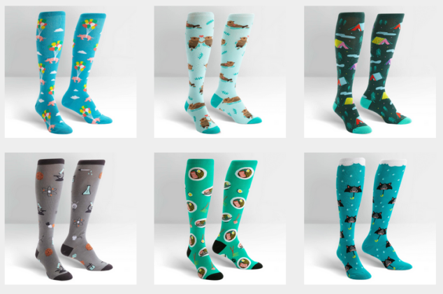 Design your own socks for the Sock It To Me design contest.