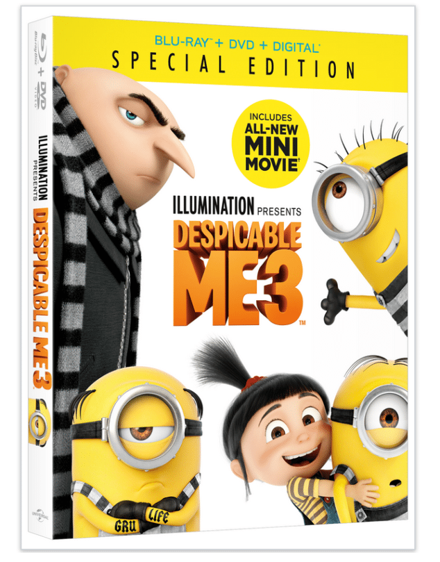 Despicable Me 3 Special Edition is ready and waiting for you now.