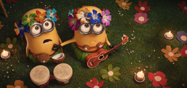 The Minions are my favorite part of Despicable Me 3 Special Edition.