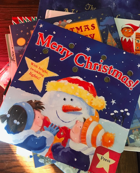 You can make your home festive with fun holiday-themed books.