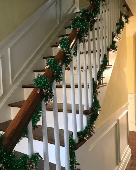 Never miss an opportunity to make your home festive on every level.