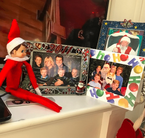 Elf on the Shelf is a fun way to make your home festive for the kids.