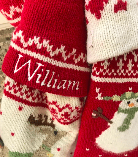 Stockings always make your home festive. Just hang them with care!