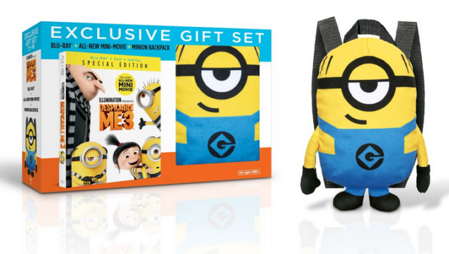 The cutest way ever to bring home Despicable Me 3.