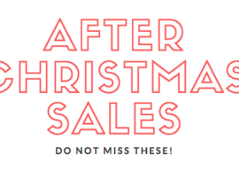 Best After Christmas Sales