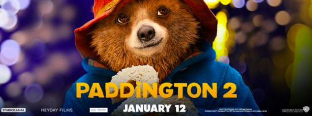 Coloring sheet Paddington Bear