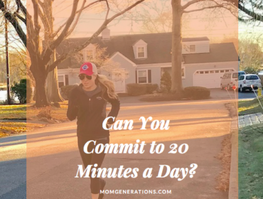Can You Commit to 20 Minutes a Day?