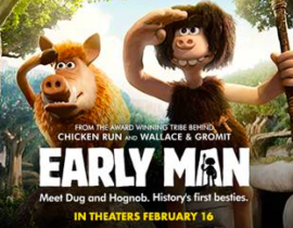 Early Man Film GIVEAWAY
