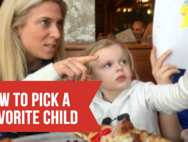 Parenting Challenge: Picking the Best Kid