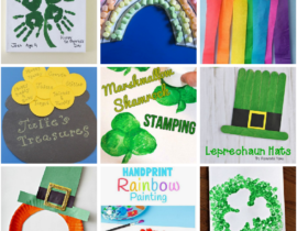9 of the Easiest St. Patrick's Day Crafts for Kids