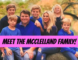 Meet Audrey McClelland Family