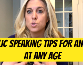 Public Speaking Tips for Anyone at Any Age