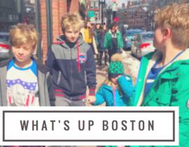 Weekend Family Trip to Boston