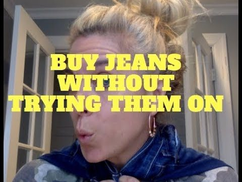 5 SECOND FASHION HACK: BUY JEANS WITHOUT TRYING THEM ON