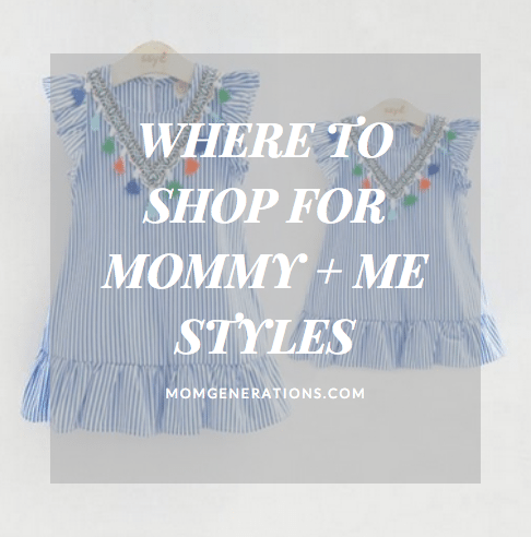 Where to Shop for Mommy and Me Styles