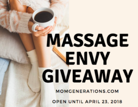 Massage Envy Gift Card Giveaway