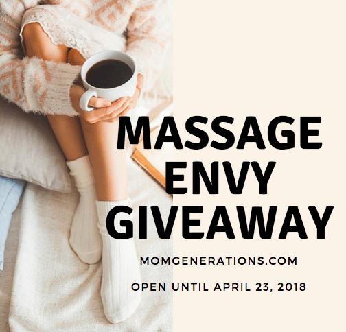 Massage Envy Gift Card Giveaway