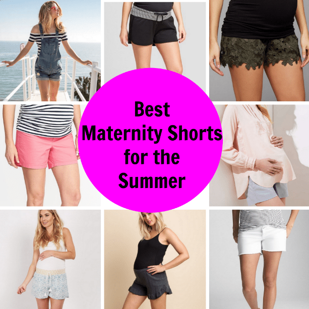 Maternity Shorts you need for the Summer