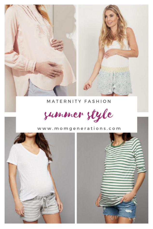 Maternity Shorts for Summer