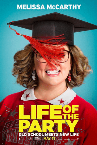 Life of the Party Trailer Poster