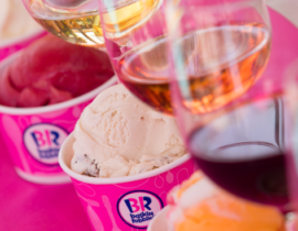 Baskin-Robbins Wine and Ice Cream Pairings