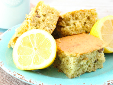 Lemon Zucchini Bars Recipe