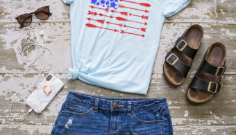 cute Fourth of July shirts from Merica' Tee's!