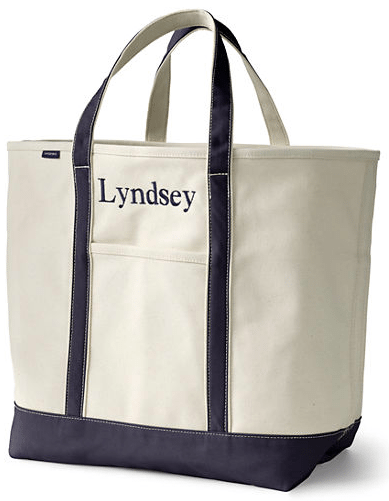 Lands' End Canvas Tote