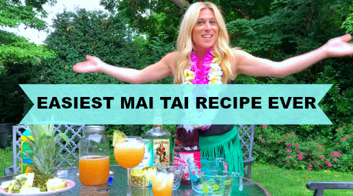 Easiest Mai Tai Recipe Ever