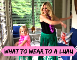 What to Wear to a Luau Party