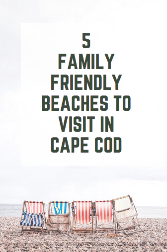 5 Family Friendly Beaches to Visit in Cape Cod