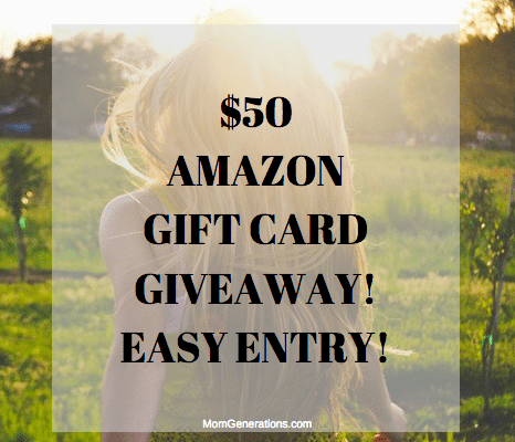 GIVEAWAY: $50 AMAZON GIFT CARD FOR SUMMER READING