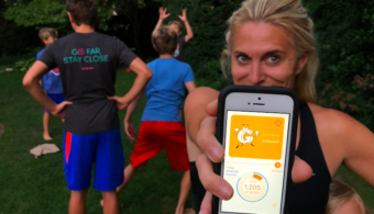 """How to Get Your Kids to Do a """"Technology Time-out"""" and Moving with the Goya-Move App"""