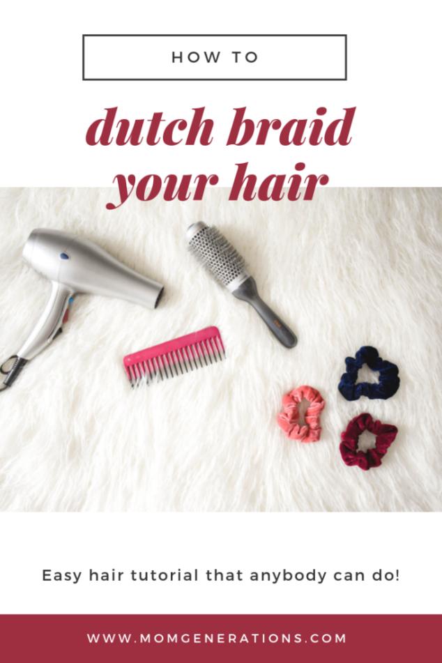 How to Do a Dutch Braid