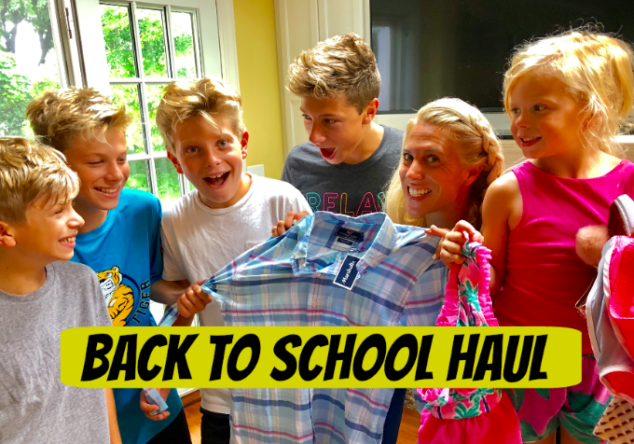 Back to School Shopping at Marshalls