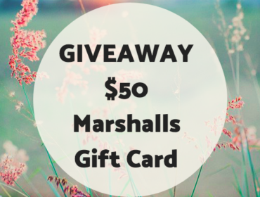 Giveaway: Marshalls $50 Gift Card