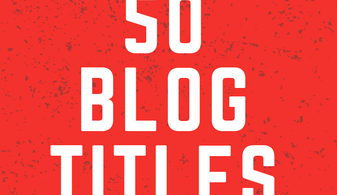 50 Blog Title Ideas
