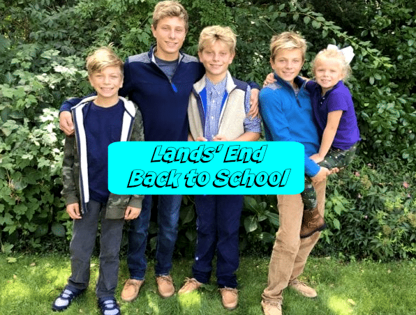 Lands' End Back to School Clothing