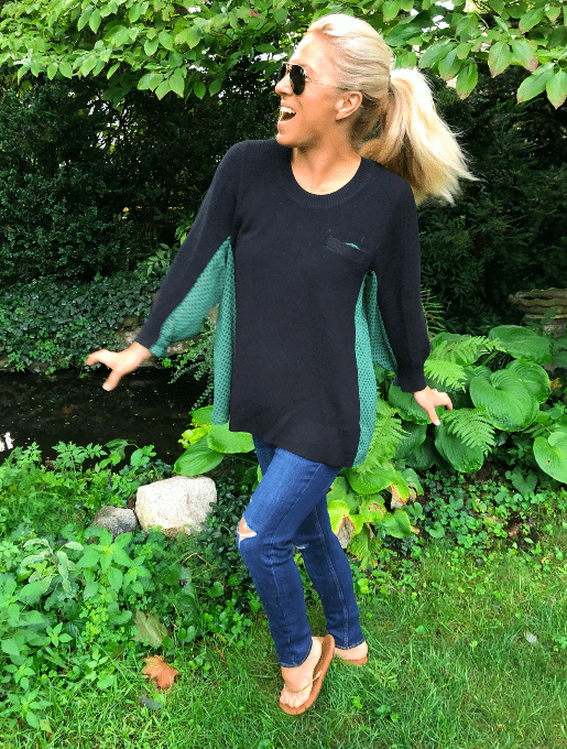 cabi Fall 2018 Get-Together Sweater