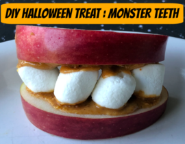 DIY Halloween Treat: Monster Teeth
