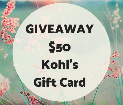 Kohl's Gift Card Giveaway