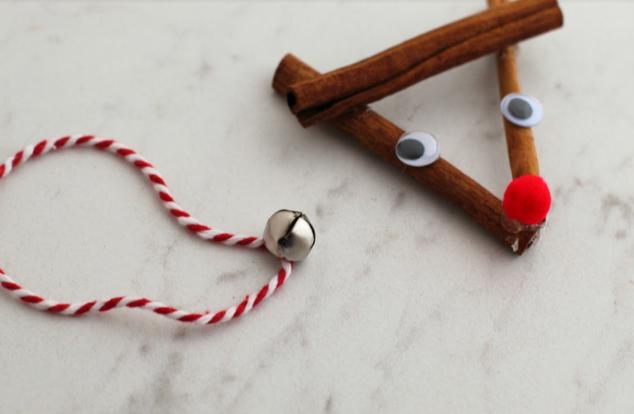 Rustic Reindeer Ornament Craft