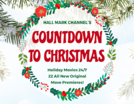 "Hallmark Channel ""Countdown to Christmas"" Holiday Movies Checklist"