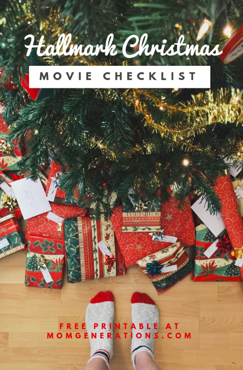 Hallmark Christmas Movie Checklist