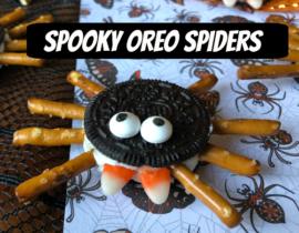 Spooky Oreo Spiders