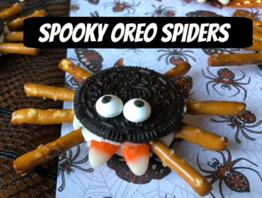 Spooky Oreo Spiders