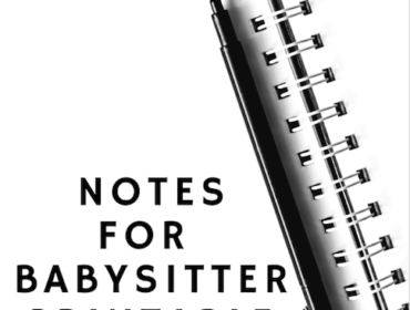 Notes for Babysitter Printable
