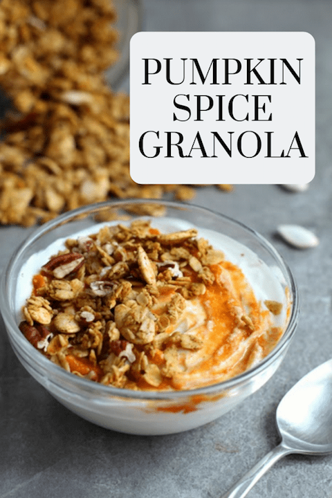 Pumpkin Spice Granola - Gluten Free Recipe