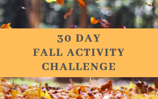 30 Day Challenge: 30 Fall Activity Challenge